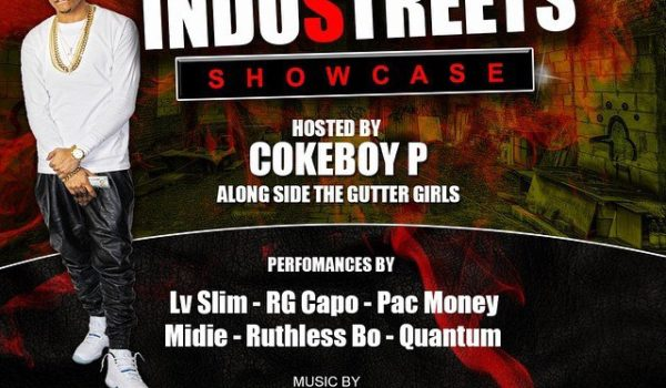 Cokeboy P hosts The InduStreets Showcase FFTG