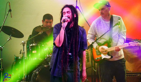 Gondwana Lead Singer during Concert in Costa Rica