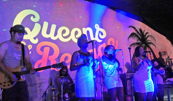 Queens of Reggae opening for Marla Brown in Puerto Viejo